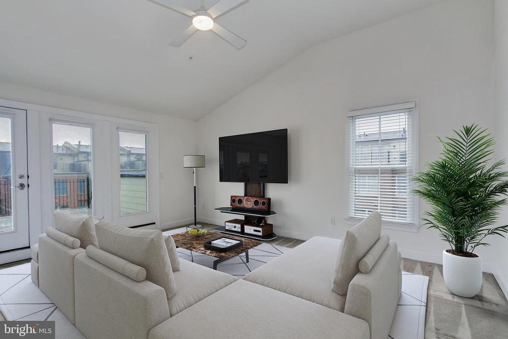 Huge Loft Family Room with Large Outdoor Terrace - 5124 STRATHMORE AVE, NORTH BETHESDA