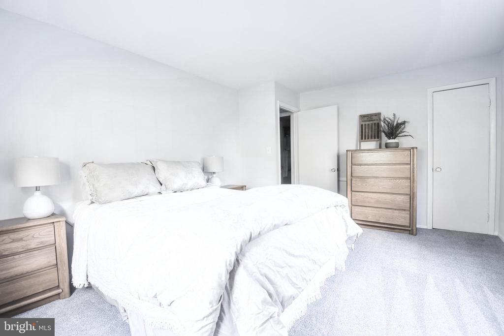 Very spacious bedroom with 2 large windows - 3975 LYNDHURST DR #202, FAIRFAX