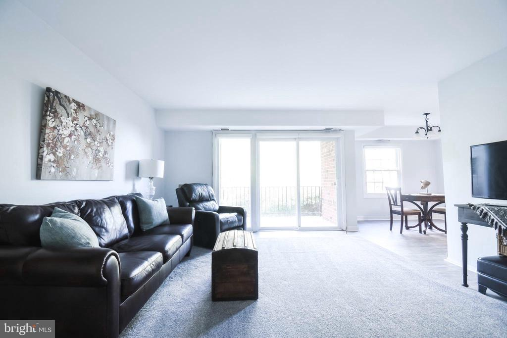 Spacious balcony! - 3975 LYNDHURST DR #202, FAIRFAX