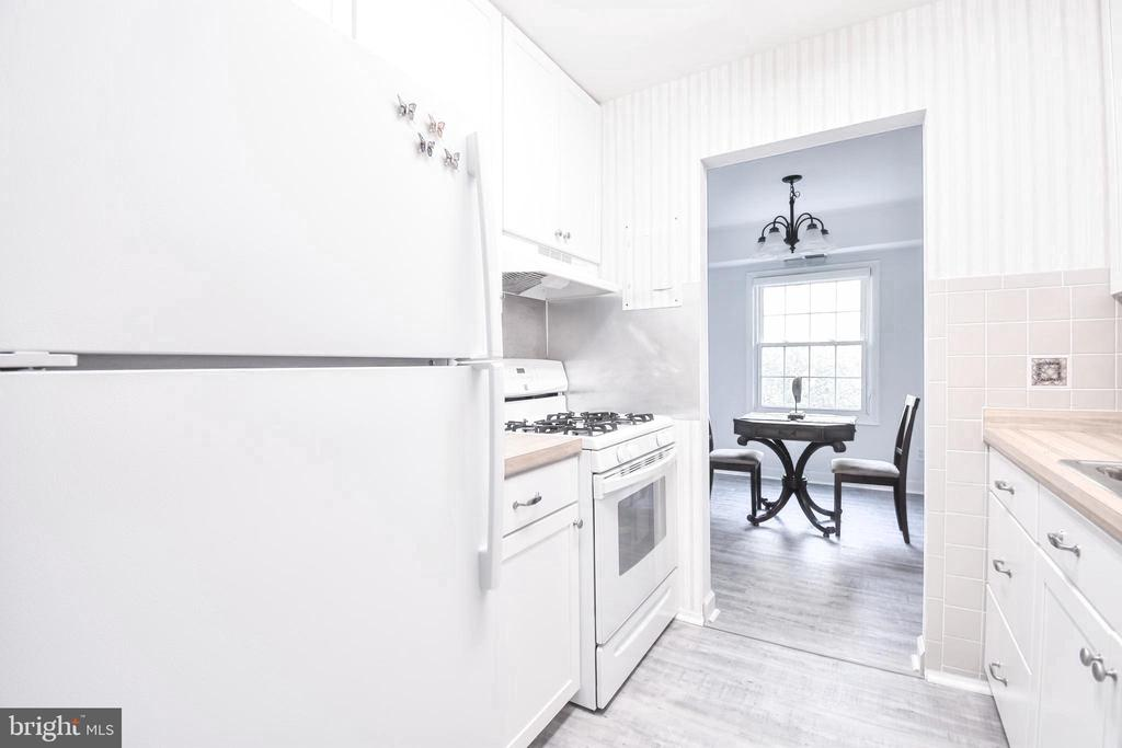 Bright, cute kitchen - 3975 LYNDHURST DR #202, FAIRFAX