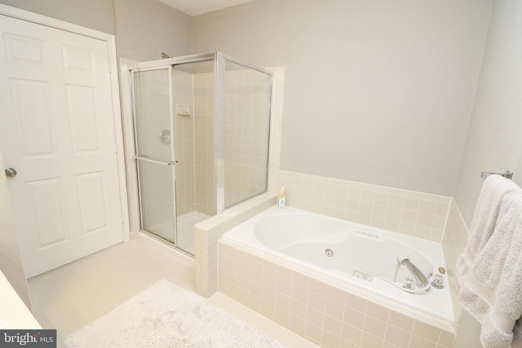 Master Bathroom - 25280 LAKE SHORE SQ #304, CHANTILLY
