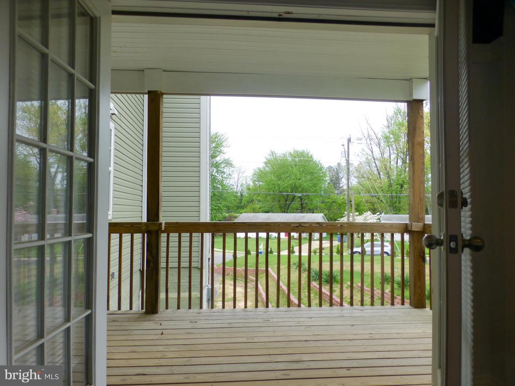 Balcony located off the Living Room - 2621 STENHOUSE PL, DUNN LORING