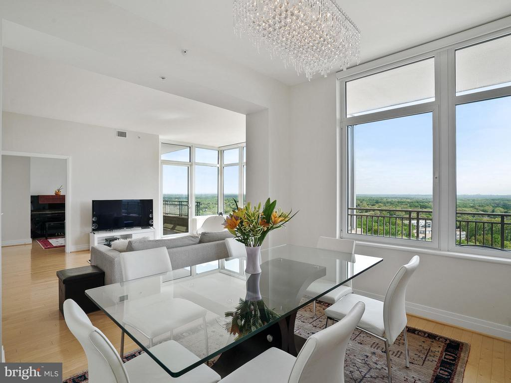 Private & Nice views from all rooms - 8220 CRESTWOOD HEIGHTS DR #1814, MCLEAN