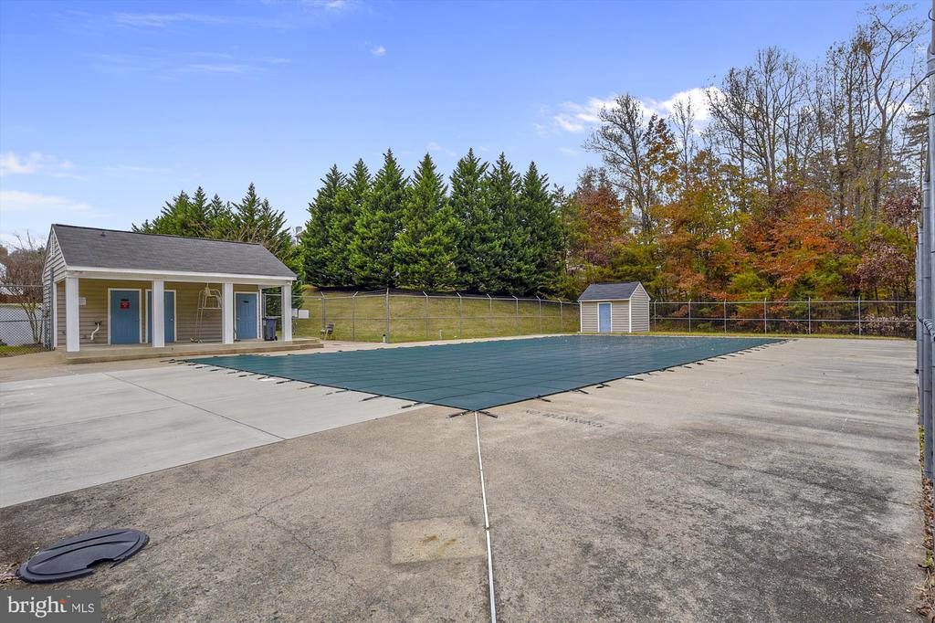 getting ready to open the pool! so soon!... - 48 SAVANNAH CT, STAFFORD