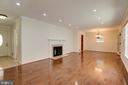 Living Room - 3903 ESTEL RD, FAIRFAX