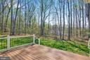 View from trex deck - 21 GLENVIEW CT, STAFFORD