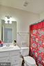 Private full bath for upstairs bedroom 3 - 21 GLENVIEW CT, STAFFORD