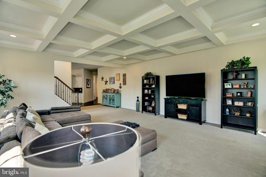 Look at the size of this family room - 21 GLENVIEW CT, STAFFORD