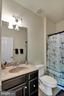 Private full bath for upstairs bedroom 2 - 21 GLENVIEW CT, STAFFORD