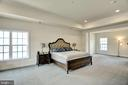 Master bedroom Suite with sitting room - 21 GLENVIEW CT, STAFFORD