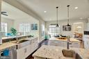 Gourmet kitchen with quartz counter tops - 21 GLENVIEW CT, STAFFORD