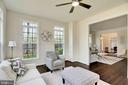 Side sun room off of formal living room - 21 GLENVIEW CT, STAFFORD