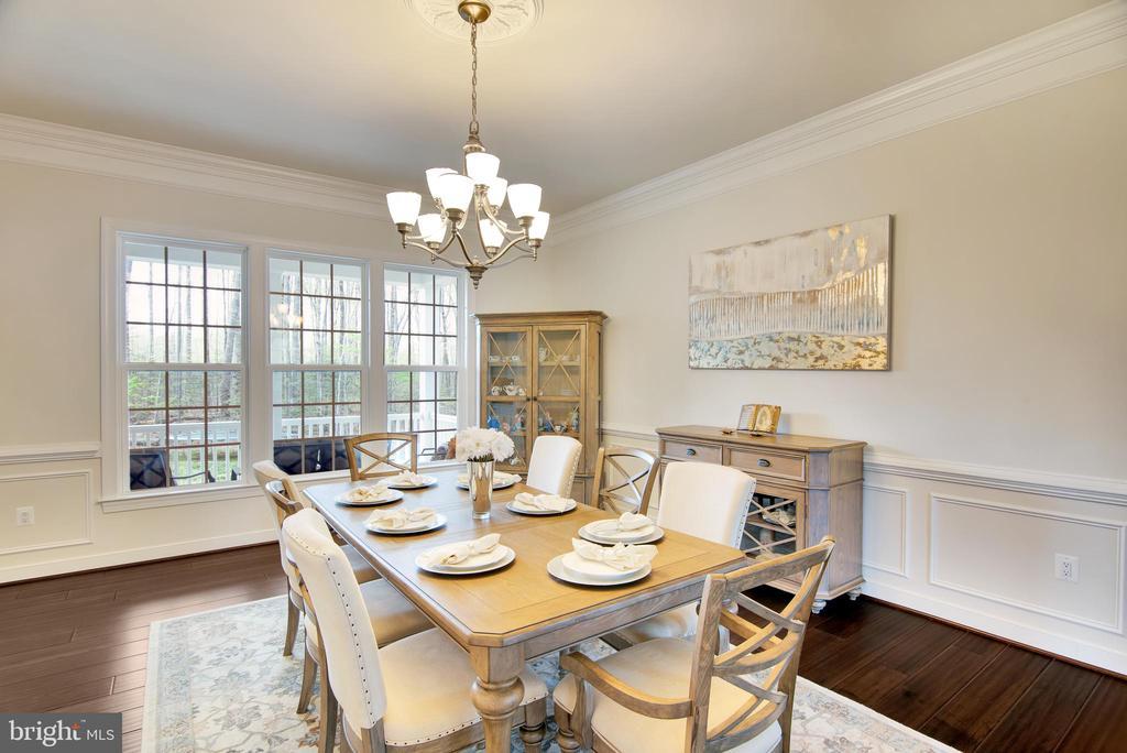 Formal dining room - 21 GLENVIEW CT, STAFFORD