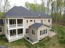 Upper master suite and lower dining balcony's - 21 GLENVIEW CT, STAFFORD