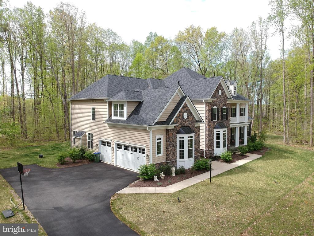 Ariel view of front side - 21 GLENVIEW CT, STAFFORD