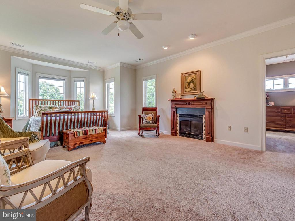 Spacious owners suite with two walk in closets. - 7803 PICNIC WOODS RD, MIDDLETOWN