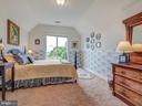 Bedroom with luxurious views and large walk-in - 7803 PICNIC WOODS RD, MIDDLETOWN
