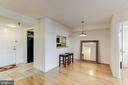 Separate dining room area - 2400 CLARENDON BLVD #803, ARLINGTON