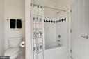 Jack and Jill Bathroom for Bedrooms 3 and 4 - 7874 PROMONTORY CT, DUNN LORING