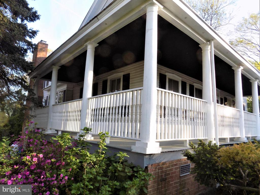 ARCHITECTURAL VIEW OF WRAP PORCH - 6321 OLD CENTREVILLE RD, CENTREVILLE