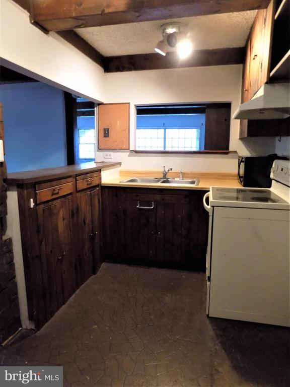 BASEMENT KITCHENETTE OPEN TO DR & GREAT RM - 6321 OLD CENTREVILLE RD, CENTREVILLE
