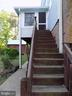 Steps from PATIO to Rear Porch Off of Kitchen - 6321 OLD CENTREVILLE RD, CENTREVILLE