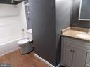FULY RENOVATED BASEMENT BATH - 6321 OLD CENTREVILLE RD, CENTREVILLE