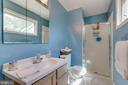 Owners Suite Full Bath - 11340 RAMBLING RD, GAITHERSBURG
