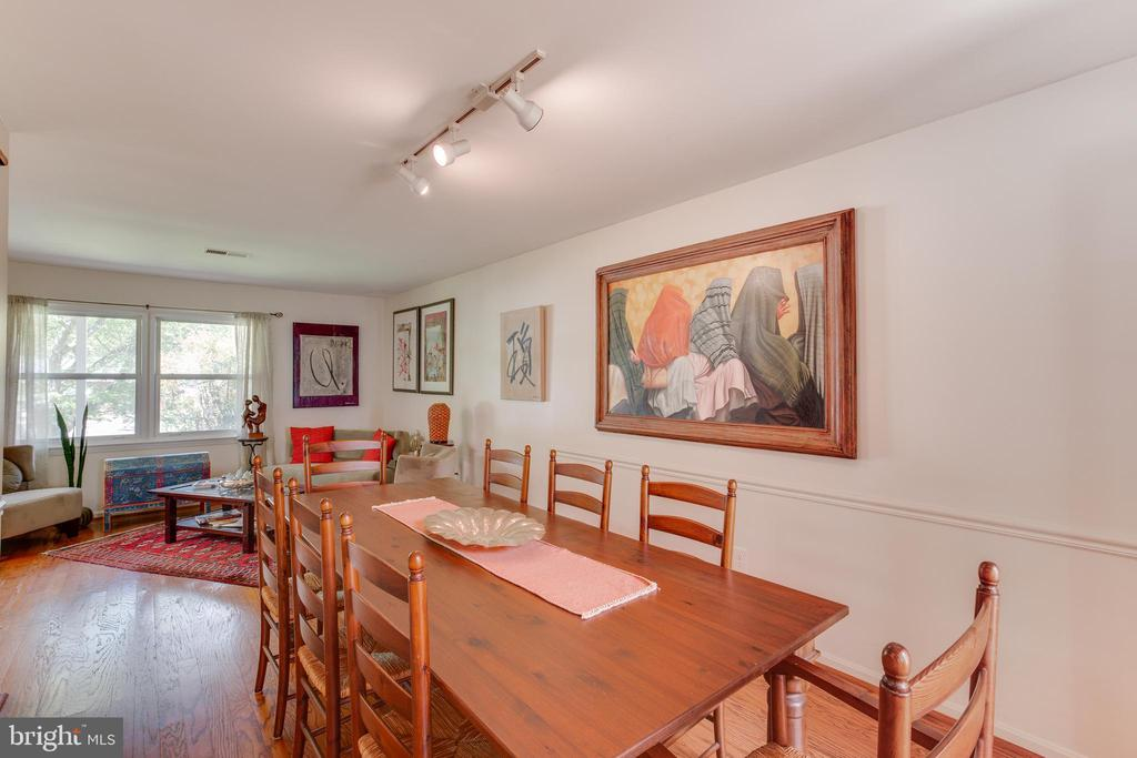 Dining Room - 11340 RAMBLING RD, GAITHERSBURG