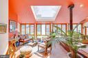 Large skylight lets in plenty of natural light - 11340 RAMBLING RD, GAITHERSBURG