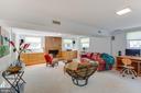 Lower Level Family Room - 11340 RAMBLING RD, GAITHERSBURG