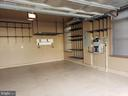 2-Car Garage with Epoxy Floor and Custom Shelving - 20579 CRESCENT POINTE PL, ASHBURN
