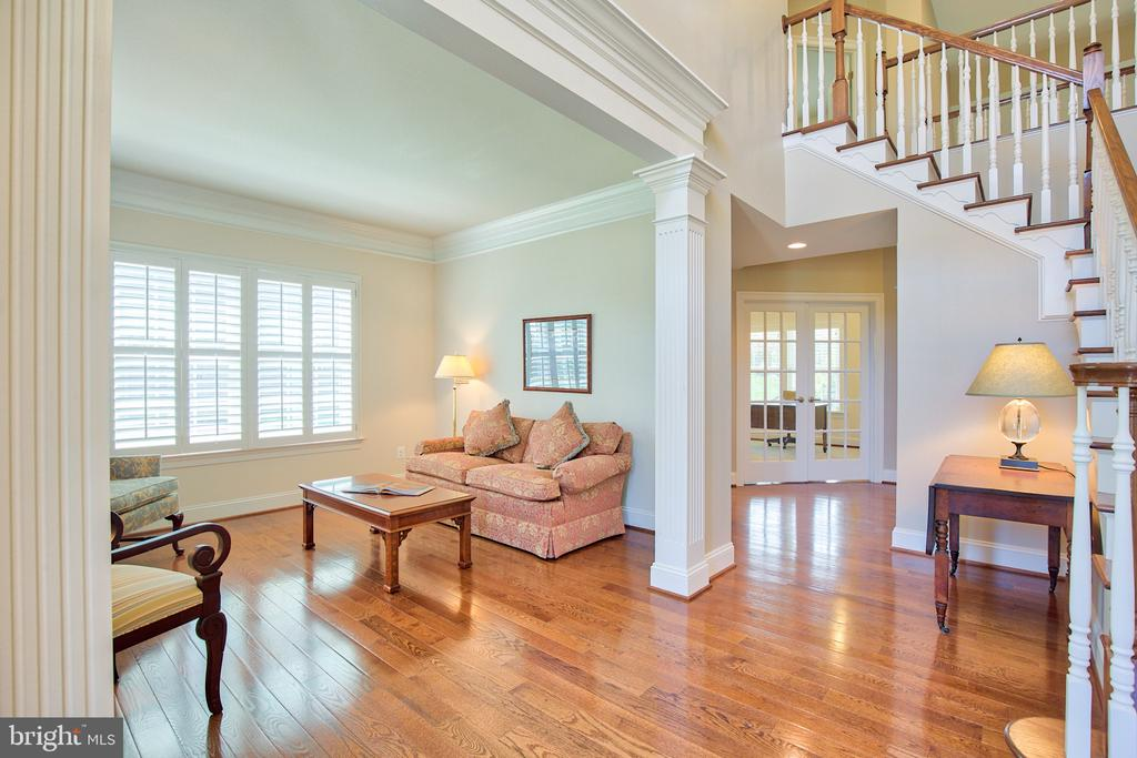 Living room and Foyer - 41656 REVIVAL DR, ASHBURN