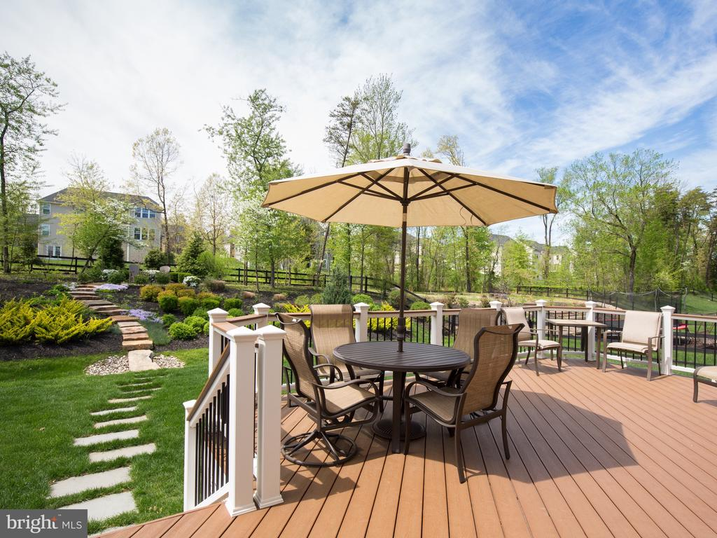 Extensive landscape and hardscape - 41656 REVIVAL DR, ASHBURN