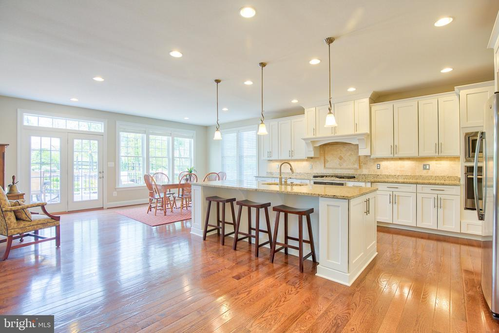 Upgraded kitchen with stainless steel appliances - 41656 REVIVAL DR, ASHBURN