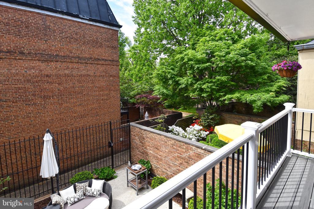 Balcony View - 602 H ST SW, WASHINGTON