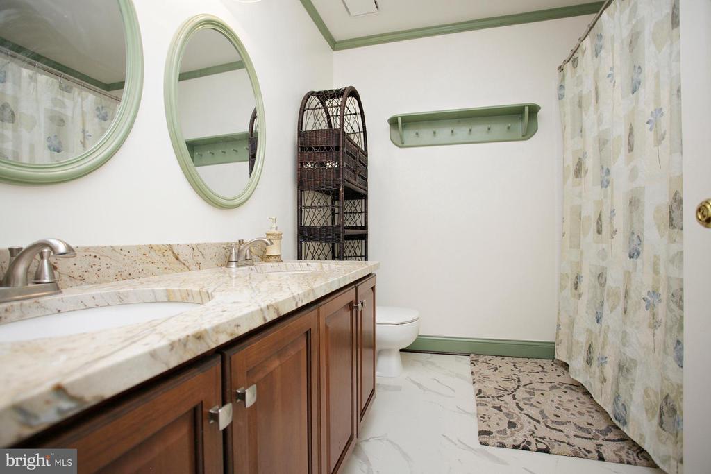 Upgraded Hall Full Bathroom - 29 BLOSSOM WOOD CT, STAFFORD