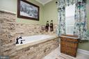 Beautiful soaking tub - 29 BLOSSOM WOOD CT, STAFFORD