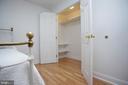 Basement Bedroom (NTC) large closet - 29 BLOSSOM WOOD CT, STAFFORD