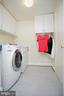 Laundry off kitchen by garage - 29 BLOSSOM WOOD CT, STAFFORD