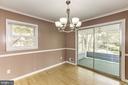 Dining room - 9505 FARMVIEW CT, FAIRFAX