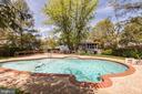 In ground pool - 9505 FARMVIEW CT, FAIRFAX