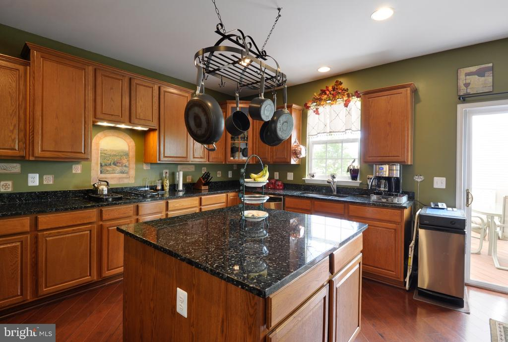 Granite, with island SS appliances - 61 CHAPS LN, FREDERICKSBURG