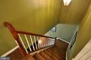 Stairs - Extra wide stairway - 61 CHAPS LN, FREDERICKSBURG