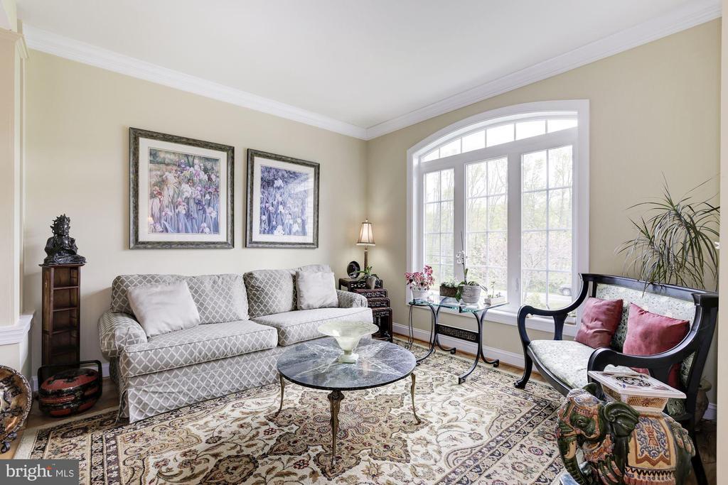 Living room - 7318 EDMONSTON RD, COLLEGE PARK