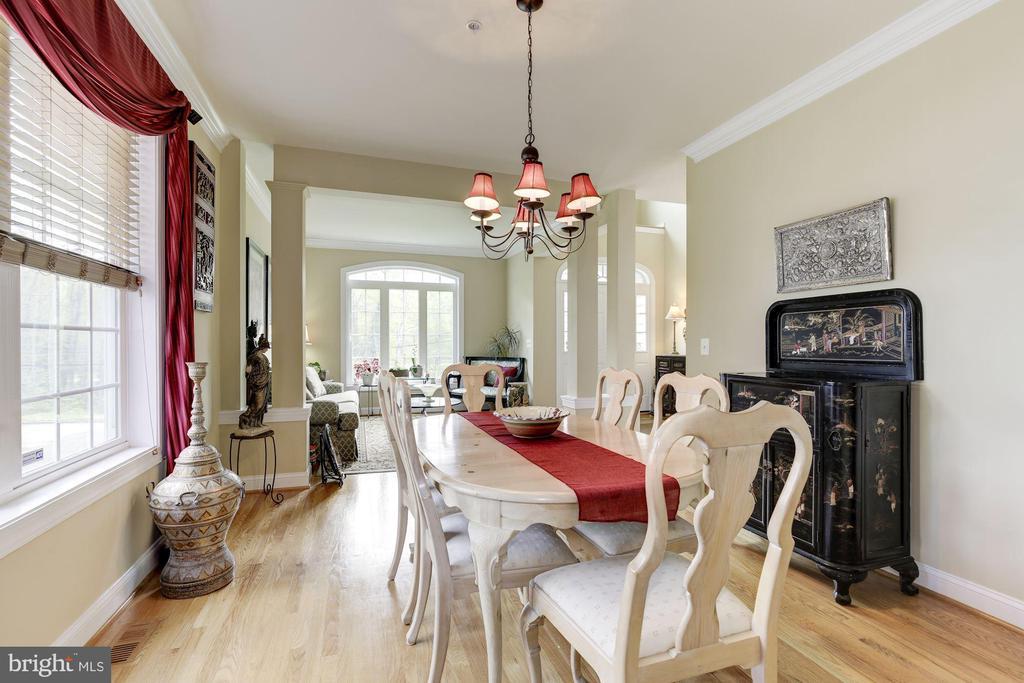 Dining room - 7318 EDMONSTON RD, COLLEGE PARK