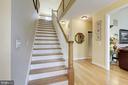 Stairway leading to 2nd floor - 7318 EDMONSTON RD, COLLEGE PARK