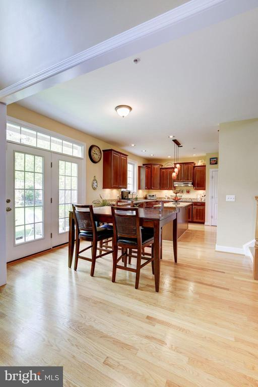Hardwood floors - 7318 EDMONSTON RD, COLLEGE PARK