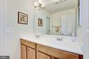 2nd floor hall full bath - 7318 EDMONSTON RD, COLLEGE PARK