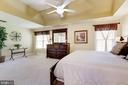 Master bedroom with sitting area. - 7318 EDMONSTON RD, COLLEGE PARK